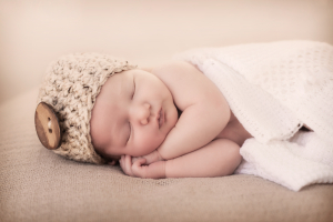 Newborn sleeping