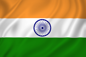 India national flag background texture.